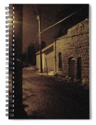 Dark Alley Spiral Notebook