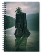 Dark And Gloomy Spiral Notebook