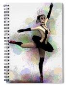 Dark Ballerina  Spiral Notebook