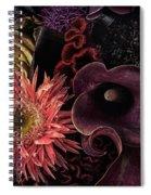 Dark Bouquet Spiral Notebook