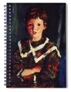 Dark Bridget Lavelle 1928 Spiral Notebook