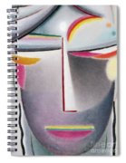 Dark Buddha Spiral Notebook