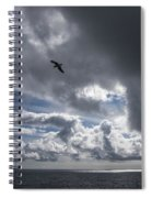 Dark Cloud Spiral Notebook