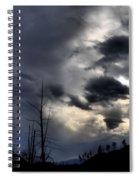 Dark Clouds Spiral Notebook