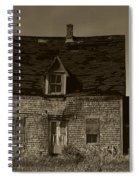 Dark Day On Lonely Street Spiral Notebook