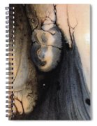 Dark Deliberation Spiral Notebook
