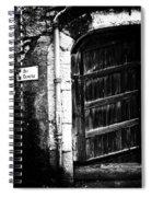 Dark Door Spiral Notebook
