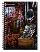 Dark Exile Spiral Notebook