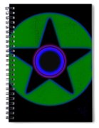 Dark Green Spiral Notebook