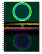 Dark Green Lake Spiral Notebook