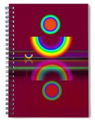 Dark Heat Spiral Notebook