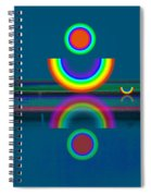 Dark Mirror Spiral Notebook