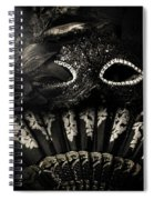 Dark Night Carnival Affair Spiral Notebook