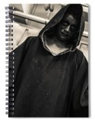 Dark Performer 1 Spiral Notebook