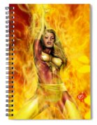 Dark Phoenix Spiral Notebook