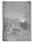 Dark, Rainy Night Spiral Notebook