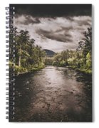 Dark River Woods Spiral Notebook