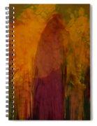 Dark Shadow Spiral Notebook