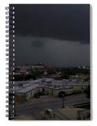 Dark Storm Spiral Notebook
