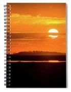 Dark Sunrise  Spiral Notebook