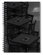 Dark Tables Spiral Notebook