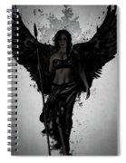 Dark Valkyrja Spiral Notebook