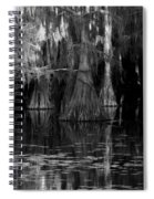 Dark Water Spiral Notebook