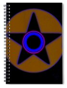 Darker Than Black Spiral Notebook