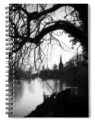 Darkness Looms Over The Avon Spiral Notebook