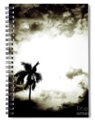Darkness Moving In Extreme Spiral Notebook