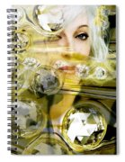 Darling Diamonds Spiral Notebook