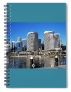 Darling Harbour Sydney Australia Spiral Notebook