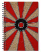 Dart Board Spiral Notebook