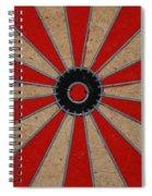 Dart Board Spiral Notebook