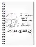 Darth Pearson Spiral Notebook