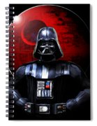 Darth Vader And Death Star Spiral Notebook