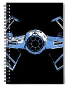 Darth Vaders Tie Figher Advanced X1 Tee Spiral Notebook