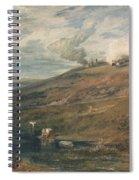 Dartmoor The Source Of The Tamar And The Torridge Spiral Notebook