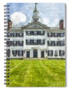 Dartmouth College Hanover New Hampshire Pencil Spiral Notebook