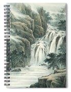 Dashan Waterfall Spiral Notebook