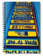 Dat's All Folks Spiral Notebook