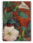 Datura Flower Spiral Notebook