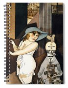 Daum Marries Her Pedantic Automaton George Spiral Notebook