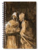 Daumier: Virgin & Child Spiral Notebook