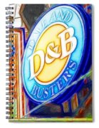 Dave And Buster's Spiral Notebook