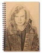 Dave Mustaine Spiral Notebook
