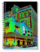Davenport Hotel Downtown Spokane Spiral Notebook