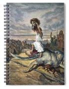 David And Goliath Spiral Notebook