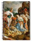 David And Abigail Spiral Notebook