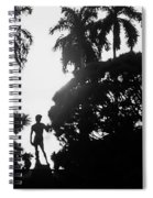 David At The Ringling Museum Spiral Notebook